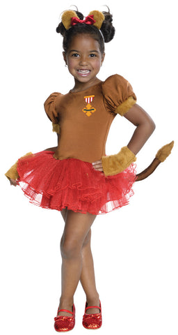COWARDLY LION TUTU COSTUME - SIZE M