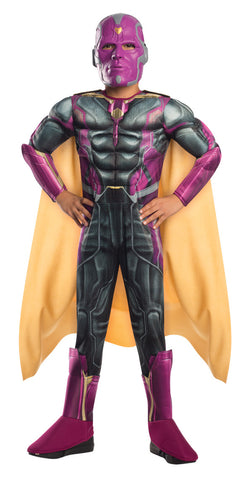 VISION AGE OF ULTRON COSTUME, CHILD - SIZE M