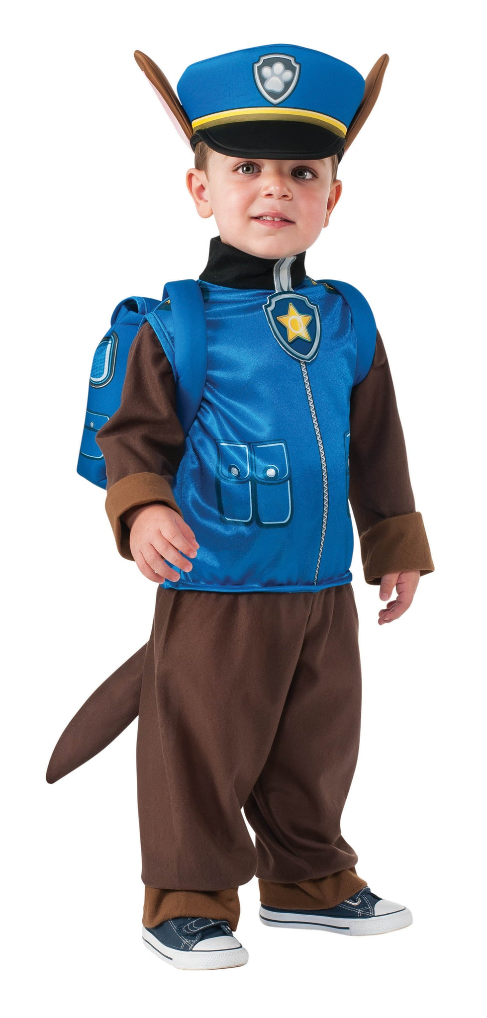 CHASE PAW PATROL COSTUME, CHILD - SIZE S
