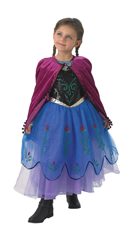 ANNA PREMIUM COSTUME, CHILD - SIZE M