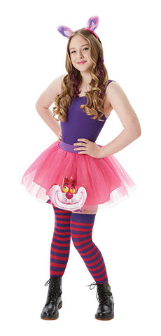 CHESHIRE CAT TUTU COSTUME, ADULT - SIZE S