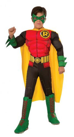 ROBIN DELUXE COSTUME - SIZE S