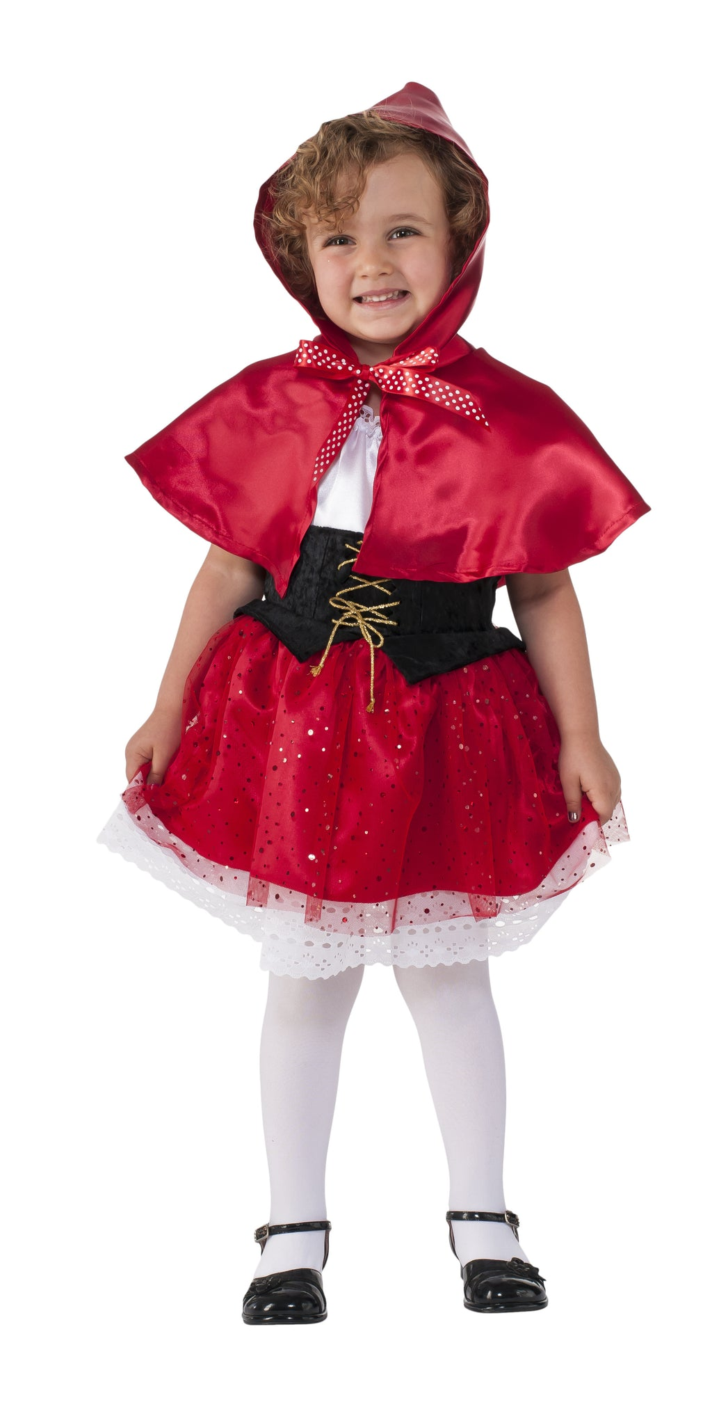 LIL'  RED RIDING HOOD, CHILD - SIZE TODDLER