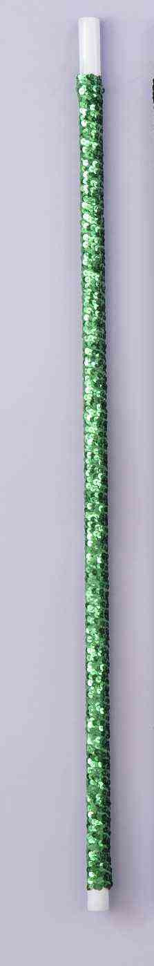 SEQUIN DANCE CANE - GREEN