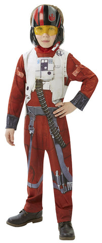 POE X-WING FIGHTER COSTUME, CHILD - SIZE 5-6