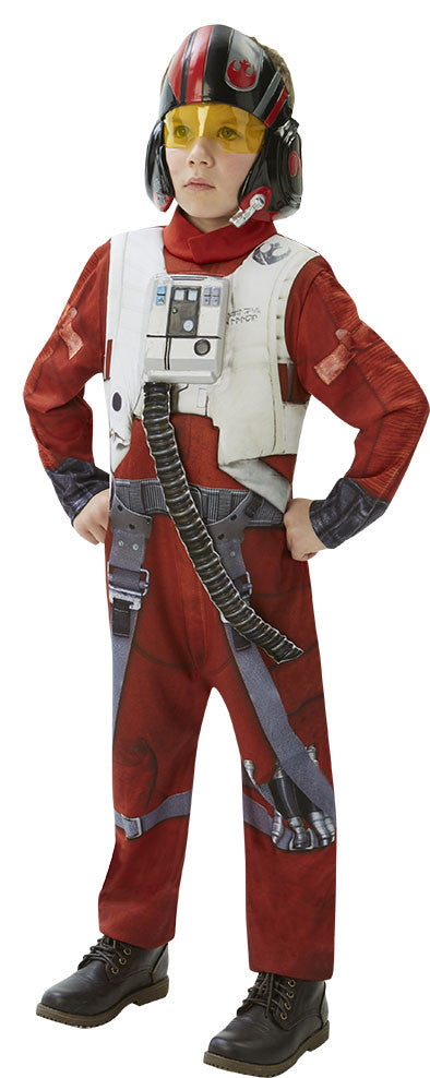 POE X-WING FIGHTER DELUXE - SIZE M - AGE 5-6
