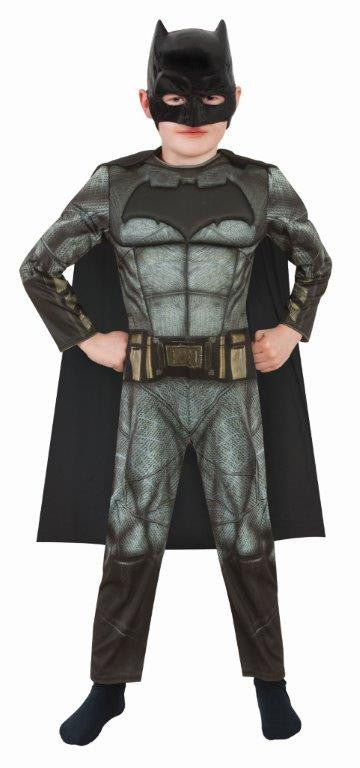 BATMAN DAWN OF JUSTICE COSTUME, CHILD - SIZE S