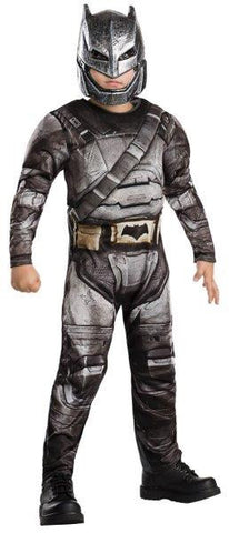 BATMAN ARMOUR DELUXE COSTUME, CHILD - SIZE S