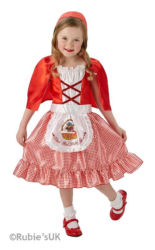 RED RIDING HOOD COSTUME - SIZE M 3-5 YRS