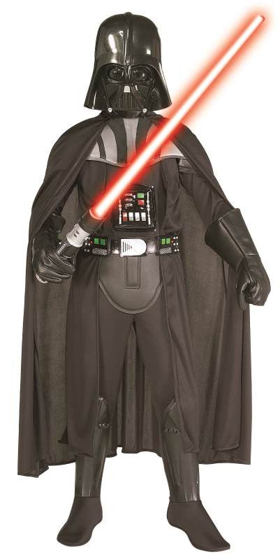 DARTH VADER DELUXE WITH LIGHTSABER - SIZE M
