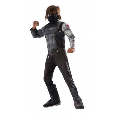 WINTER SOLDIER CIVIL WAR DELUXE COSTUME, CHILD - SIZE M