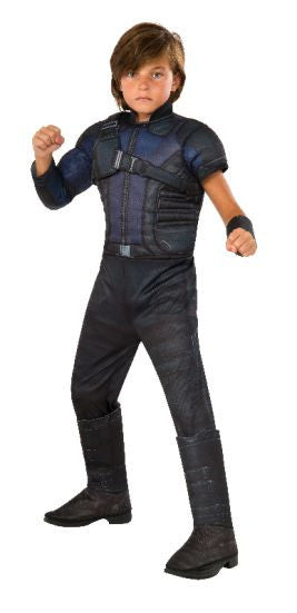 HAWKEYE CIVIL WAR DELUXE COSTUME, CHILD - SIZE M