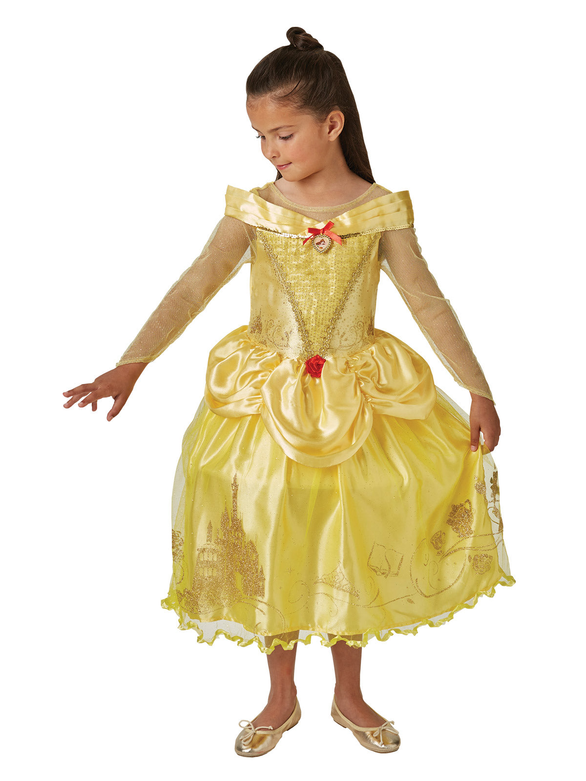 BELLE AND THE BEAST BALLGOWN, CHILD - SIZE S