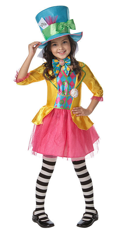 MAD HATTER GIRL, CHILD - SIZE 13-14