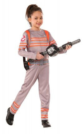 GHOSTBUSTERS 2016 JUMPSUIT COSTUME, CHILD - SIZE S