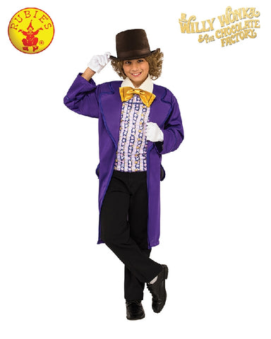 WILLY WONKA CLASSIC COSTUME, CHILD - SIZE S
