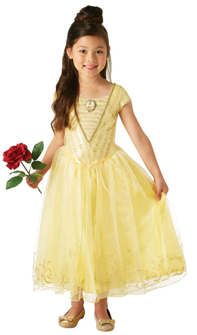 BELLE DISNEY DELUXE COSTUME, CHILD - SIZE 3-5