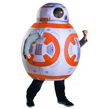 BB-8 INFLATABLE STAR WARS COSTUME, CHILD