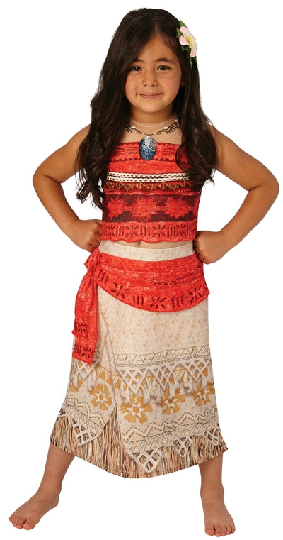 MOANA DELUXE COSTUME, CHILD - SIZE M