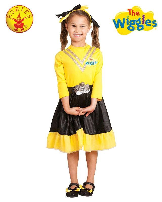 EMMA WIGGLE FULL COSTUME DELUXE - SIZE TODDLER