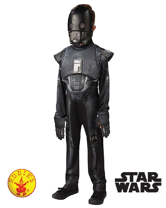 K-2S0 ROGUE ONE DELUXE COSTUME, CHILD SIZE 11-12
