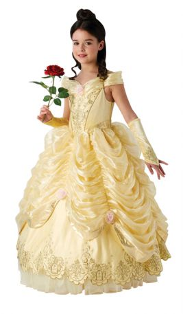 BELLE LIMITED EDITION COSTUME, CHILD - SIZE M