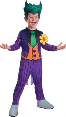 JOKER CLASSIC COSTUME, CHILD - SIZE M