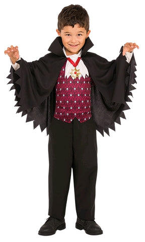 LITTLE VAMPIRE COSTUME - SIZE S