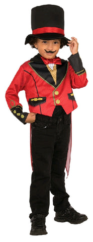 RINGMASTER CIRCUS COSTUME, CHILD - SIZE S