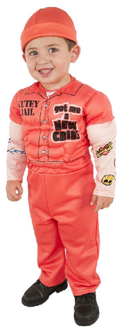 MUSCLE PRISONER DELUXE COSTUME, CHILD - SIZE M
