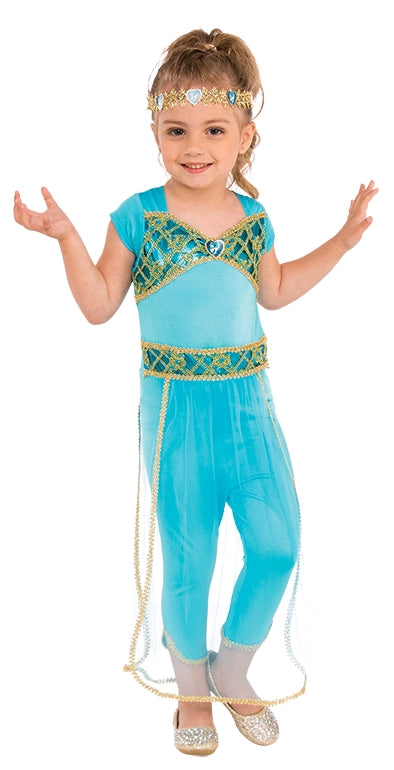ARABIAN PRINCESS COSTUME, CHILD - SIZE M