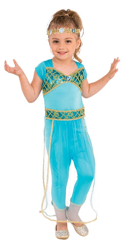 ARABIAN PRINCESS COSTUME, CHILD - SIZE S