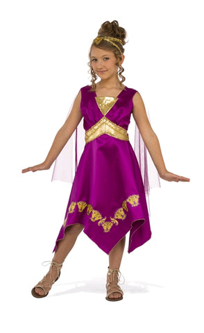 GRECIAN GODDESS COSTUME - SIZE S