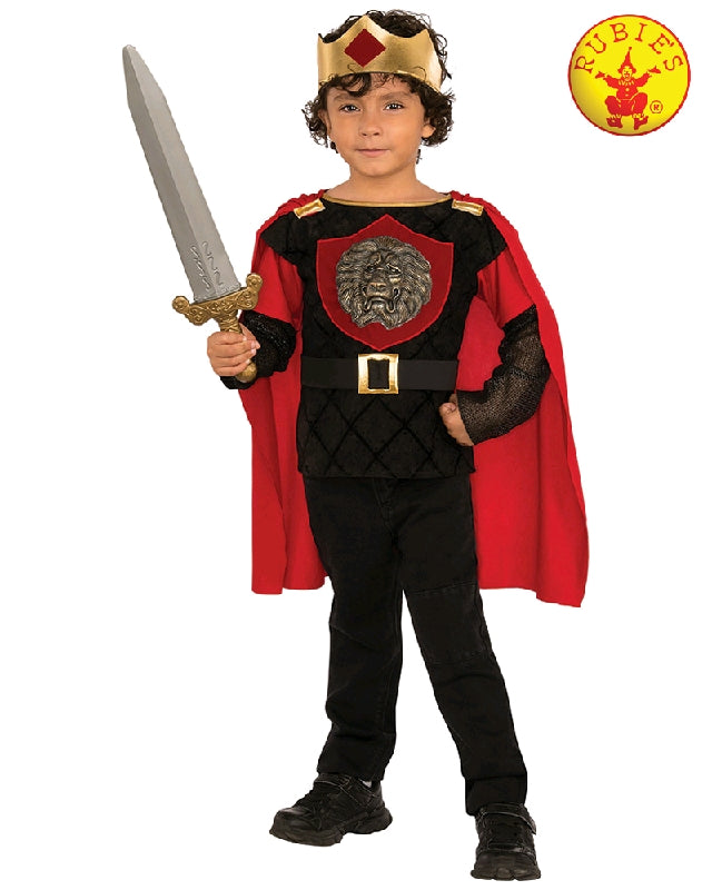 LITTLE KNIGHT COSTUME, CHILD - SIZE M