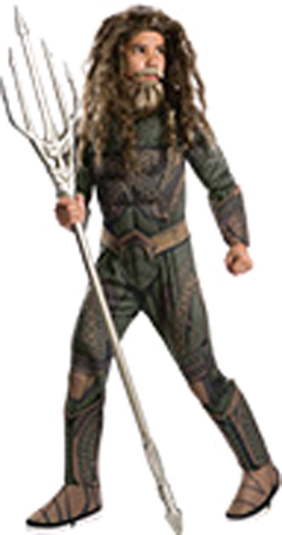 AQUAMAN DELUXE COSTUME, CHILD