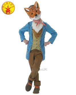 MR. FOX DELUXE COSTUME, CHILD - SIZE S