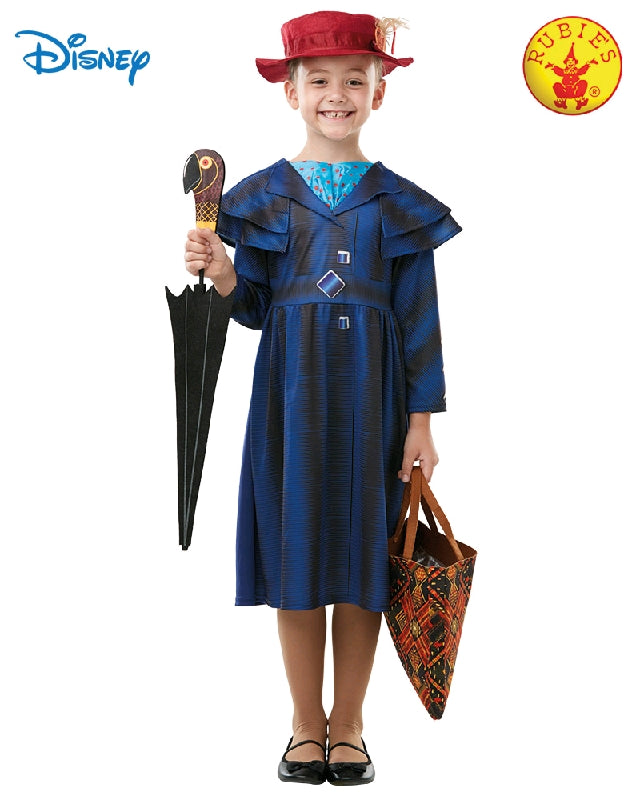 MARY POPPINS RETURNS COSTUME, CHILD - SIZE 5-6