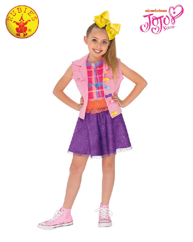 JOJO SIWA MUSIC VIDEO COSTUME, CHILD - SIZE L