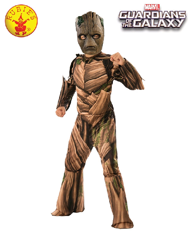 GROOT DELUXE COSTUME, CHILD - SIZE S
