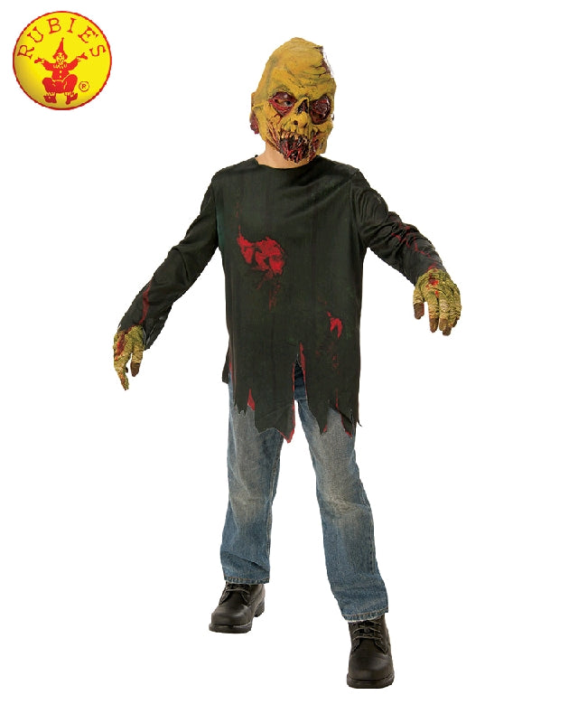 ZOMBIE AVENGER COSTUME, CHILD - SIZE L