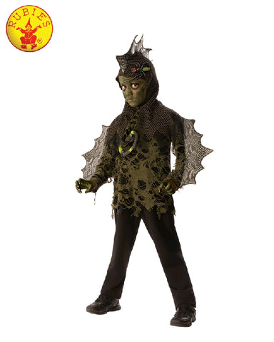 SWAMP LIZARD COSTUME, CHILD - SIZE M