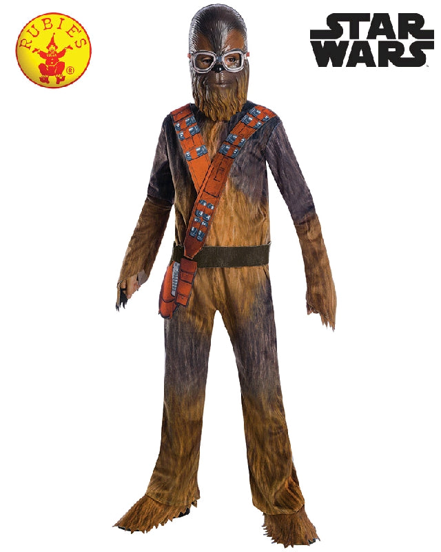 CHEWBACCA DIGITAL PRINT JUMPSUIT COSTUME, CHILD - SIZE M