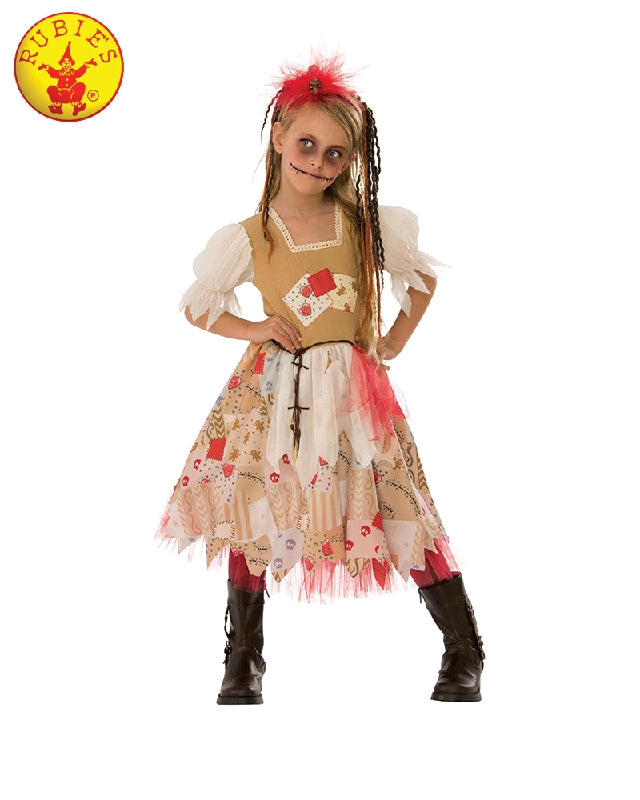 VOODOO GIRL COSTUME, CHILD - SIZE M