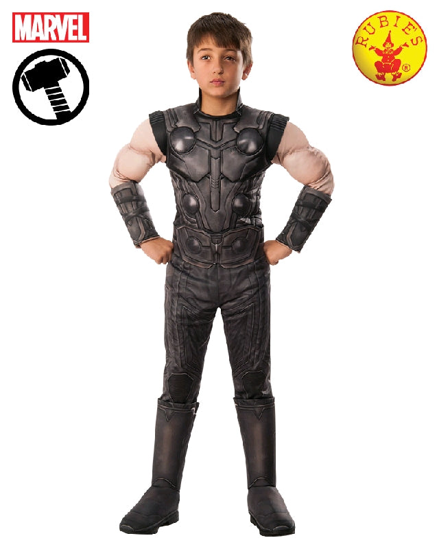 THOR INFINITY WAR DELUXE COSTUME, CHILD - SIZE S