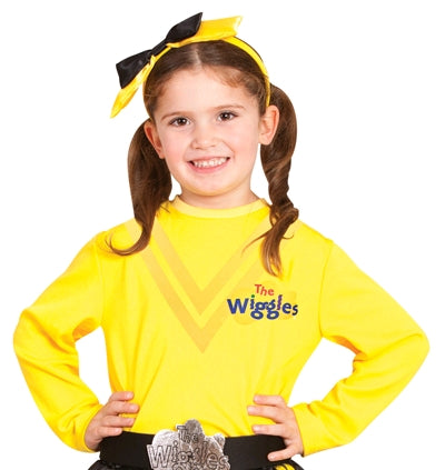 EMMA WIGGLE COSTUME TOP, CHILD - SIZE 3-5