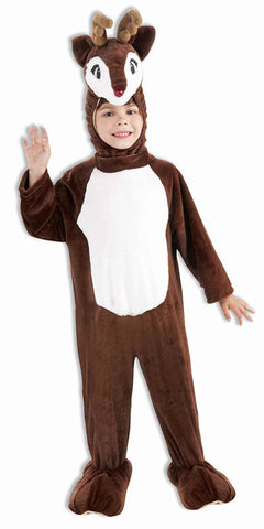 Reindeer Plush Mascot Child Costume