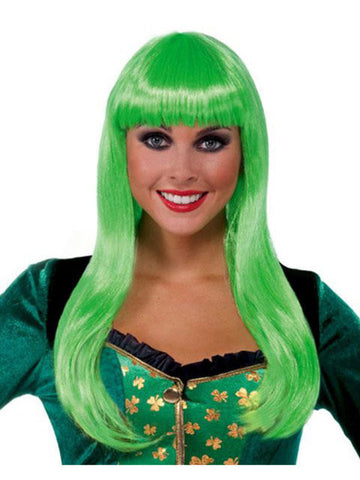 St Patricks Day Irish Lass Wig