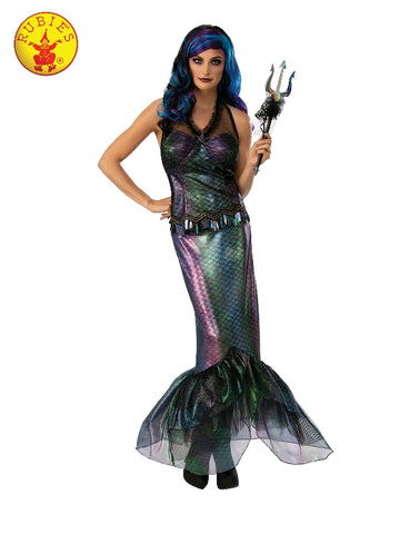 QUEEN NEPTUNE NAUTICAL COSTUME, ADULT - SIZE M