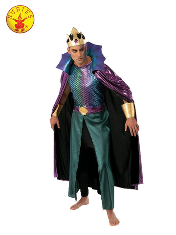 KING NEPTUNE NAUTICAL COSTUME, ADULT - SIZE STD