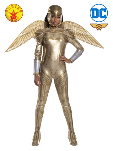 WONDER WOMAN 1984 GOLD ARMOUR COSTUME - SIZE S